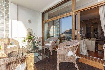 Foto 10 de Impresionante piso en Miraconcha con terraza y vistas directas sobre la bahía de San Sebastián.