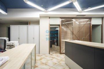 Foto 10 de Local comercial de 147m² acondicionada como oficina a pie de calle.