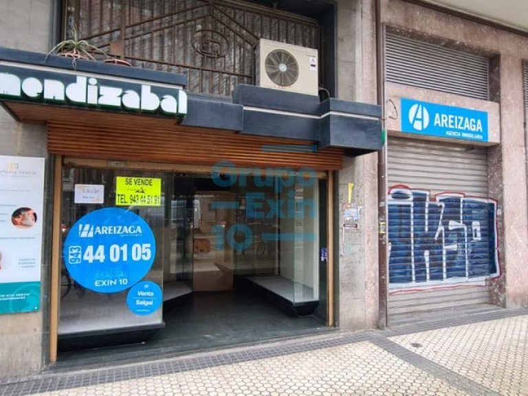 Local comercial en avenida madrid, junto a anoeta.